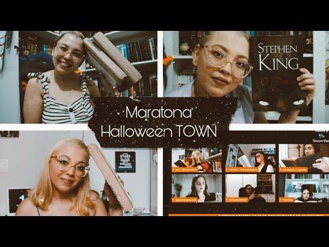 VLOG DE LEITURA #16 | MARATONA HALLOWEEN TOWN, UNBOXING E PLATINANDO O CABELO