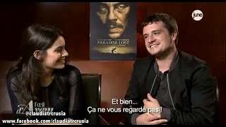 Джош Хатчерсон, Interview of Claudia Traisac, Josh Hutcherson and Andrea Di Stefano in Paris