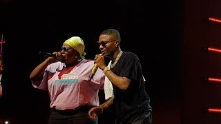 "Teni  Performs ""Case"" With Wizkid At ""Wizkid Exclusive Vip Experience """