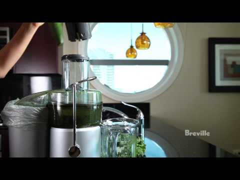 Video Breville -- Adèle Schober presents — A Green Juice Recipe (Juicer in Fat, Sick and Nearly Dead)
