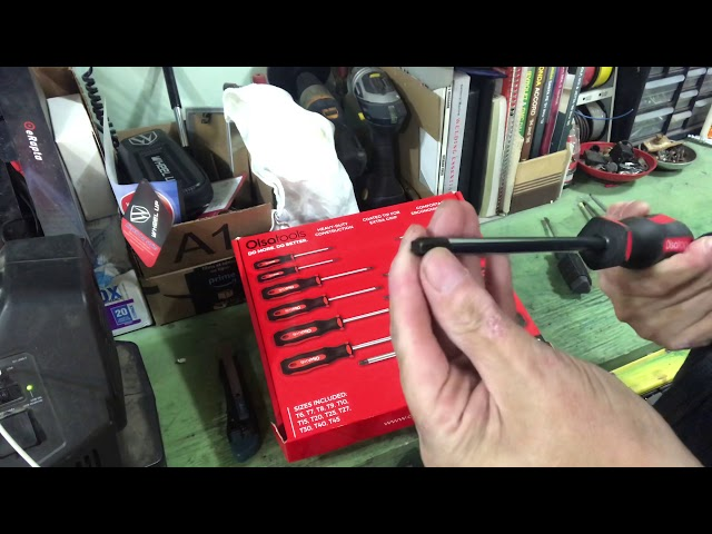 Youtube Video for 12 Pc Torx Screwdriver Set by Bruce L.