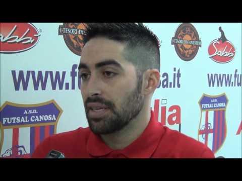 Preview video Interviste post-gara Apulia Food Canosa Vs Futsal Ruvo