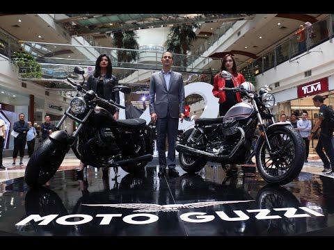 Launching Moto Guzzi V9 | Oto.com