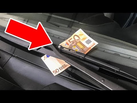 If You See Money on Your Windshield, You're In Danger!