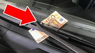 If You See Money on Your Windshield, Don't Touch It!