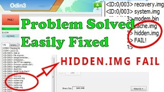 [Error Solved] How to fix odin at hidden.img.ext4 fail! (size) is too big - Jan 2018