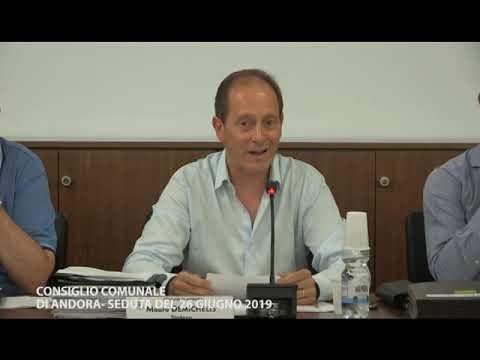 CONSIGLIO COMUNALE DI ANDORA MERCOLEDI' 26 GIUGNO 2019