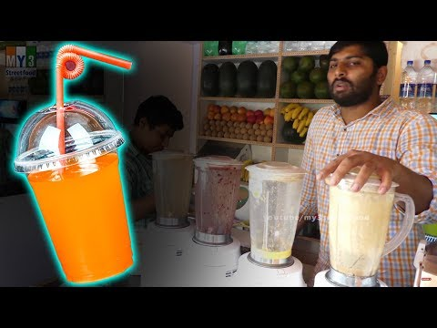 Video Fresh Orange Juice Recipe | ROAD SIDE HEALTH STREET FOODS