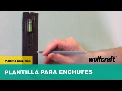 Plantilla para enchufes Wolfcraft 4050000