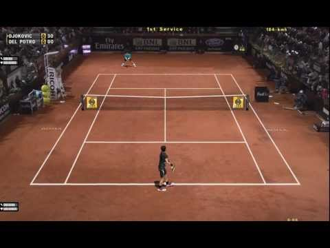 Gameplay de Tennis Elbow 2013