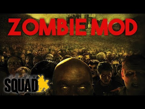 100 Player Squad Zombie Mod Madness - Squad 50v50 Gameplay