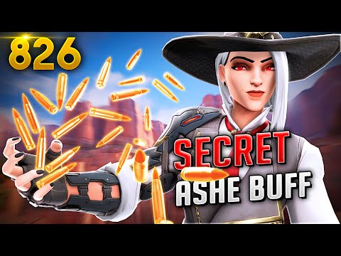 This SECRET ASHE BUFF Is INSANE!! | Overwatch Daily Moments Ep.826 (Funny and Random Moments)