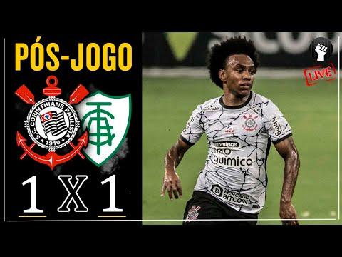 Corinthians x América-MG | Transmissão ao vivo | Campeonato Brasileiro 2021