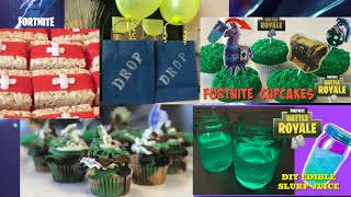 5 DIY Fortnite Party Ideas I DIY I  How To Cook Craft & Cake It