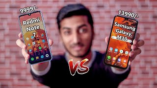 Redmi Note 7 vs Samsung Galaxy M30!! Which One You Should Buy?? Full Comparison!!