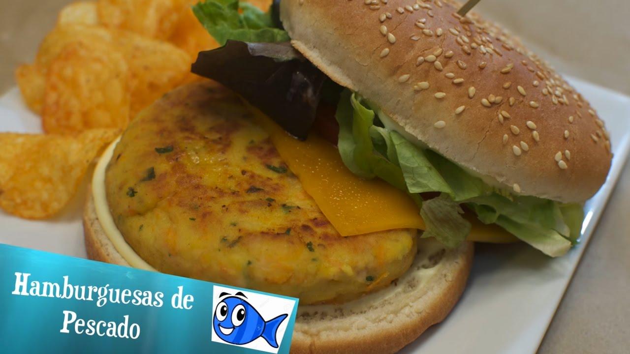 Hamburguesas de Pescado | Hamburguesas de Merluza | Hamburguesas de Atún | Hamburguesas de Salmón