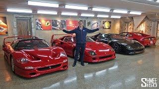 The Best Secret Underground Supercar Garage!