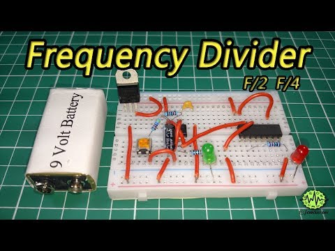 Frequency Divider Circuit | Using 555 Timer IC | CD4017 | DIY | Electronic Project