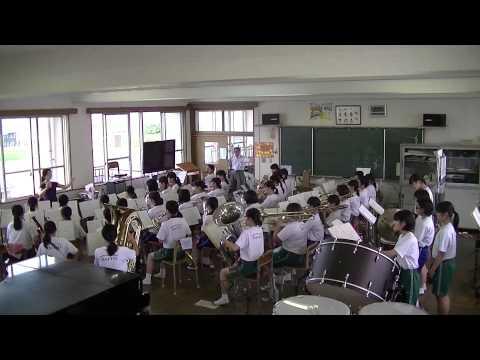 大分市立大東中学校「吹奏楽部直前練習」①
