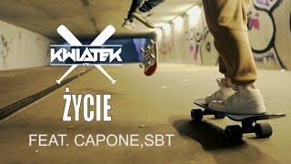 Kadr z teledysku Życie tekst piosenki Kwiatek feat. Capone PN, SBT