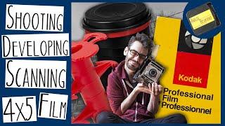 Shooting, Developing & Scanning 4x5 FILM | 40 YEAR EXPIRED FILM
