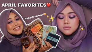 APRIL 2020 FAVORITES!! Banyak Rekomendasi Eyeshadow Palette