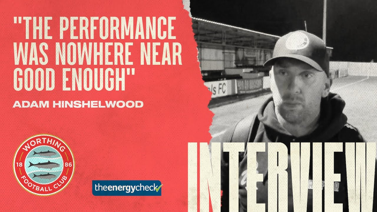 """Thumbnail for Hinshelwood: """"The performance was nowhere near good enough"""""""