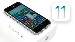Как работает iOS 11 Beta 1 на iPhone 5S?