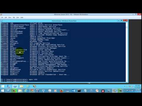 Powershell Start and Stop Services - смотреть онлайн на Hah Life