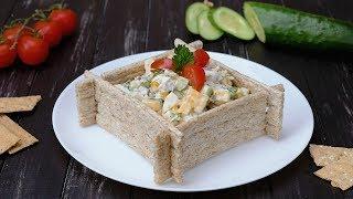 Как приготовить салат с печенью трески - Рецепты от Со Вкусом