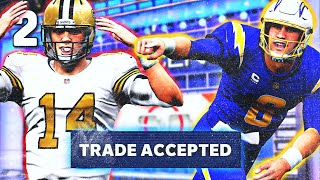 I JUST TRADED MY QB AFTER 1 GAME... Sub Franchise #2