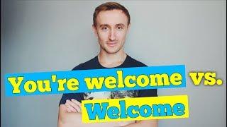 Исправляем ошибки: WELCOME vs YOU