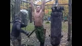 Илья Серебряков | Тимирязевский парк | Пресс на турнике