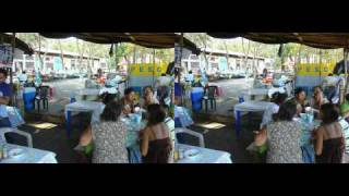 preview picture of video 'Fishing day at Puerto La Libertad, Salvador - Part 3 (3D Video)'