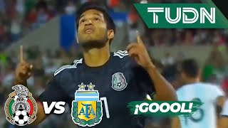 ¿Penal? Aguirre anota el segundo   México 2 - 1 Argentina   Amistoso Sub 22   TUDN