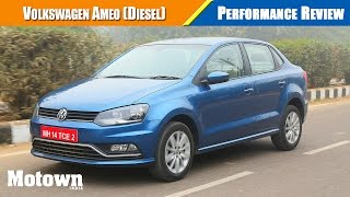 Volkswagen Ameo Diesel TDI | Road Test Review| Motown India