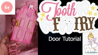 DIY  | HOW TO MAKE A TOOTH FAIRY DOOR SET TUTORIAL | POLYMER CLAY | AIR DRY CLAY | COL PORCELAIN