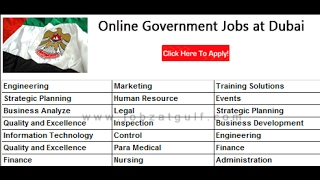How To Search And Apply For Government Job In UAEDubai