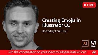 Creating Emojis in Adobe Illustrator #WorldEmojiDay