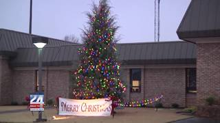 Christmas Trees Outside Southside City Hall Holds Special Meaning