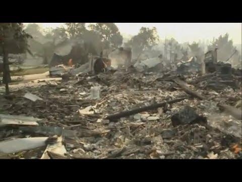 Kalifornien: Waldbrände zerstören Stadt Redding