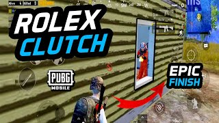 INCREDIBLE CLUTCH MOMENT - PUBG MOBILE