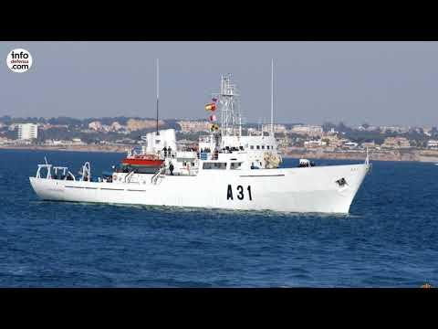 La Armada española fija como prioridad sustituir sus buques hidrográficos