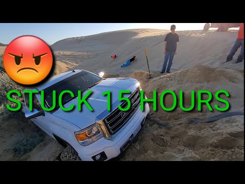 Stuck at Pismo Dunes For 15 hours in the sand Memorial Day INSURANCE