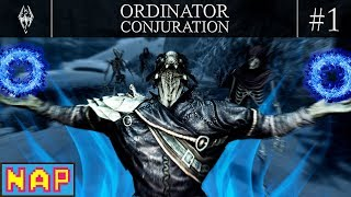 SKYRIM Ordinator Conjuration Playthrough Part 1