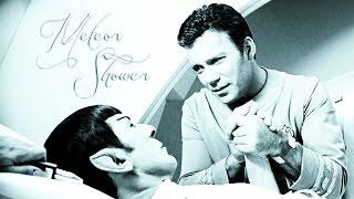 kirk + spock | meteor shower