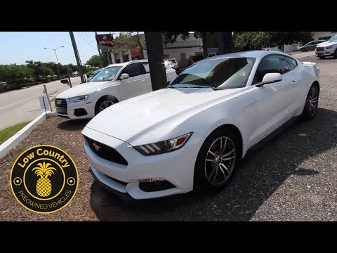 Here's A 2017 Ford Mustang Premium EcoBoost | For Sale Review | Mt. Pleasant Used Cars