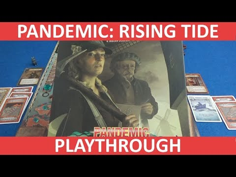 Pandemic: Rising Tide - Playthrough