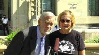 Video Press conference at US Department of Justice by xposefacts with former