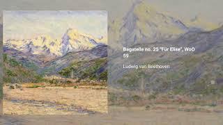Bagatelle no. 25 ''Für Elise'', WoO 59